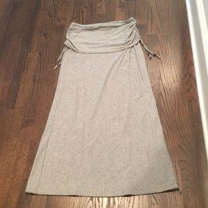 Athleta maxi skirt size small